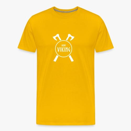 Very Viking Brand - Herre premium T-shirt