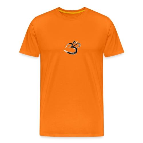 Black OM - Premium-T-shirt herr