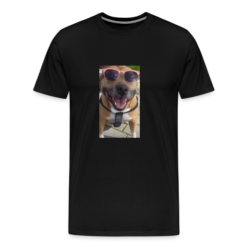 Cool Dog Foxy - Mannen Premium T-shirt