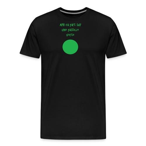 Pastille verte - T-shirt Premium Homme