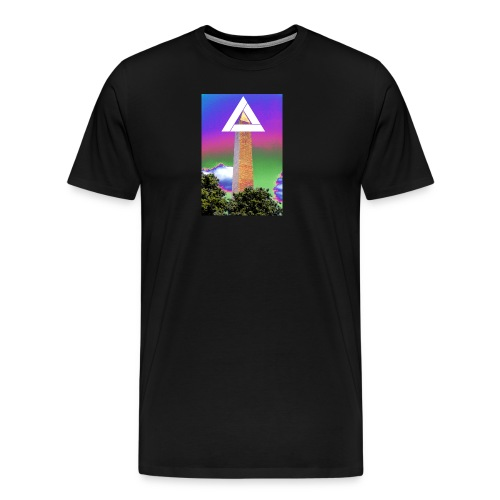 SIXTH DIEMENSION MONUMENT - Men's Premium T-Shirt