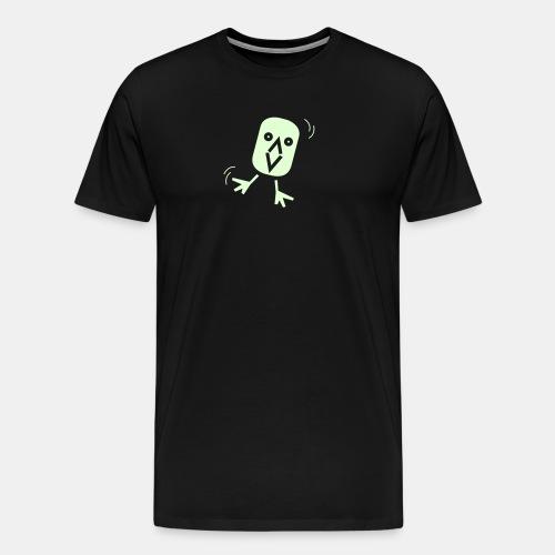 Crazy Vogel 2 - Männer Premium T-Shirt