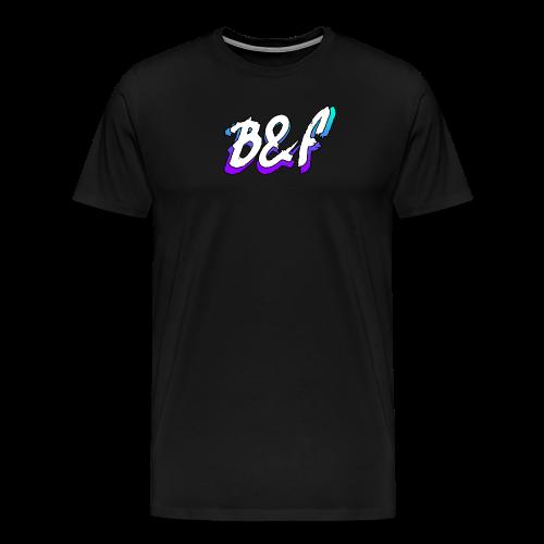 Purple and Blue Fade - Men's Premium T-Shirt