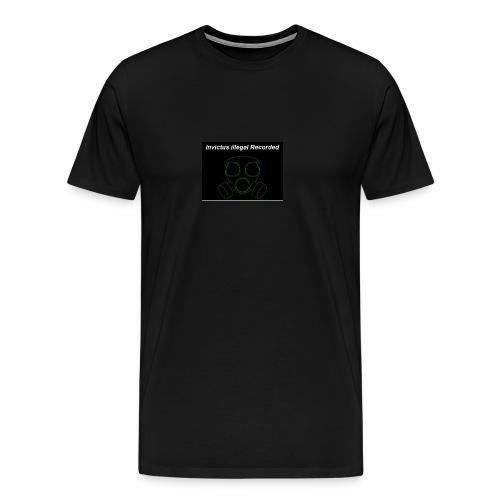 Invictus illegal Recorded - Männer Premium T-Shirt