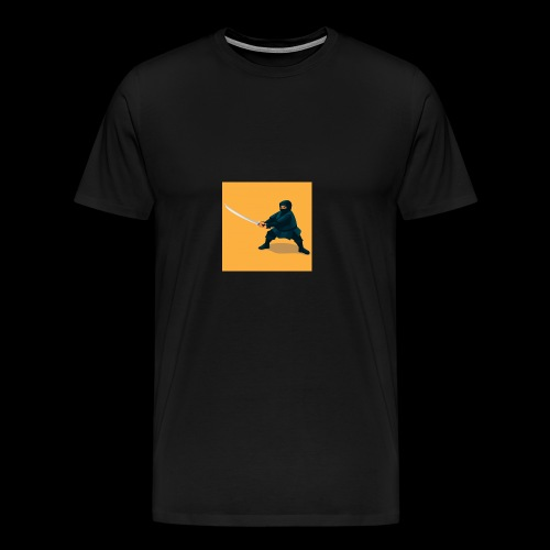 dikke ninja - Mannen Premium T-shirt