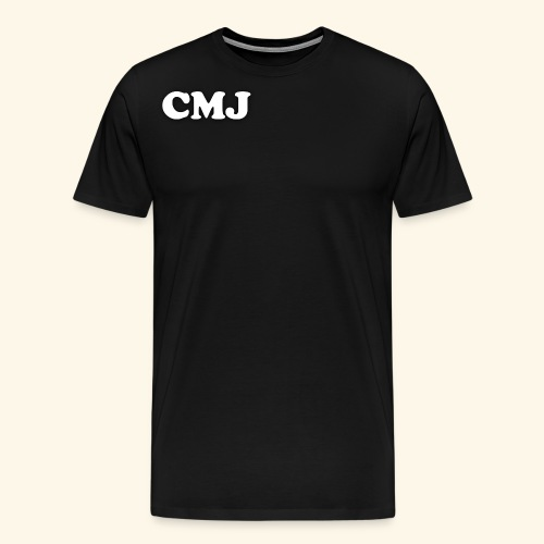 CMJ white merch - Men's Premium T-Shirt