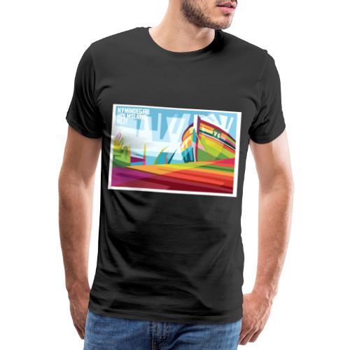 DK-Shirts Nymindegab Pop-Art - Männer Premium T-Shirt