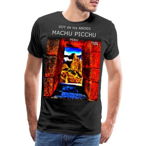 SOY de los ANDES - Machu Picchu II - Men's Premium T-Shirt