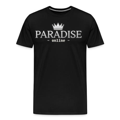 Paradise Online - Mannen Premium T-shirt