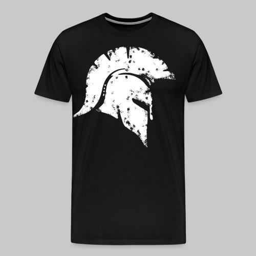 2reborn spartan honor ehre krieger kaempfer warrio - Männer Premium T-Shirt