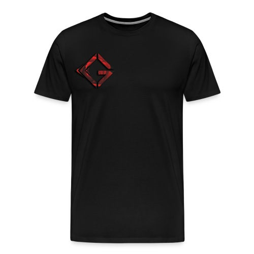 Signature Rose Logo - Men's Premium T-Shirt