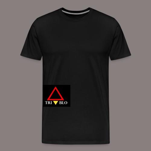 TRIABLO BLACK - Maglietta Premium da uomo