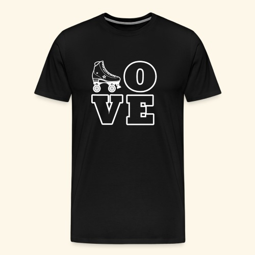 Love Skating - Männer Premium T-Shirt