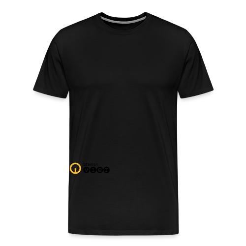 BremenVier_Logo_pos_cmyk - Männer Premium T-Shirt