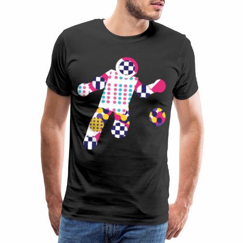 Geometric ball player - Men's Premium T-Shirt