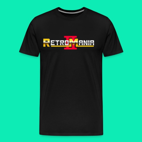 Retro Mania II - Logo - Männer Premium T-Shirt