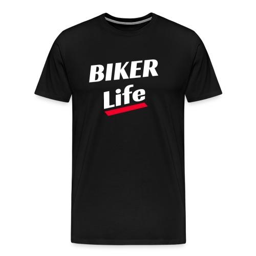 Biker Life T-Shirt Geschenk - Männer Premium T-Shirt