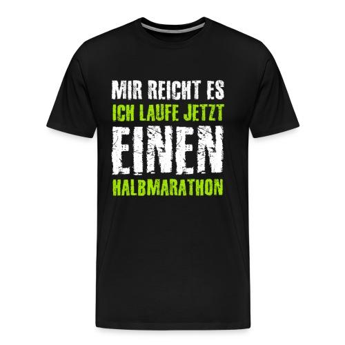Halbmarathon Marathon Triathlon Joggen Sprint - Männer Premium T-Shirt