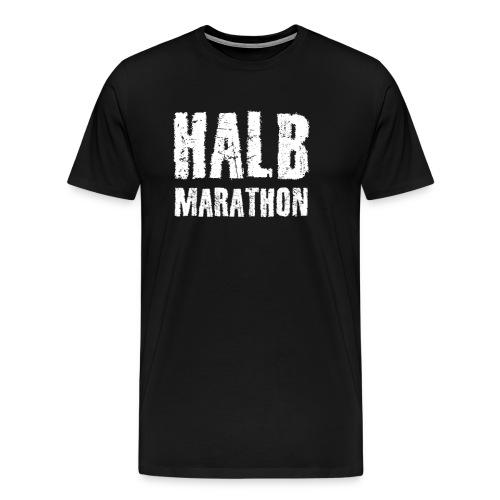 Halb Marathon - Männer Premium T-Shirt