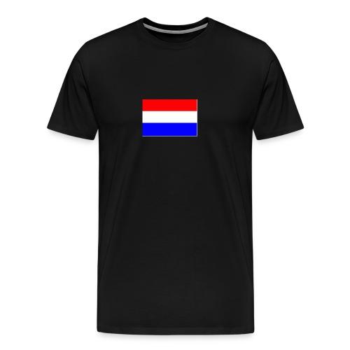 vlag nl - Mannen Premium T-shirt