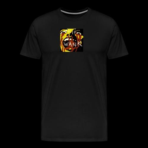 shit wank bank thank - Men's Premium T-Shirt