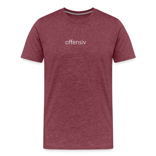 offensiv t-shirt (børn) - Herre premium T-shirt