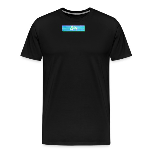 Spicy Box Logo - Men's Premium T-Shirt