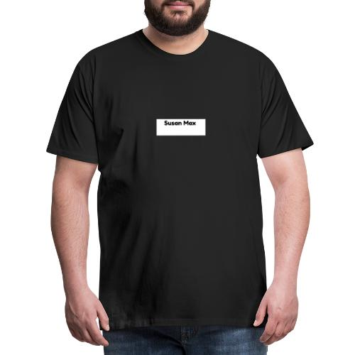 Susan Max Logo - Men's Premium T-Shirt