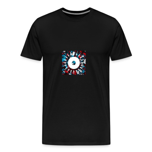 ODU GANG - Miesten premium t-paita
