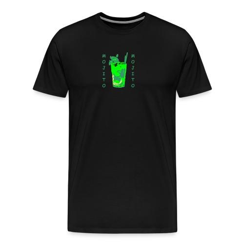 Mojito bicchiere colorato - Maglietta Premium da uomo