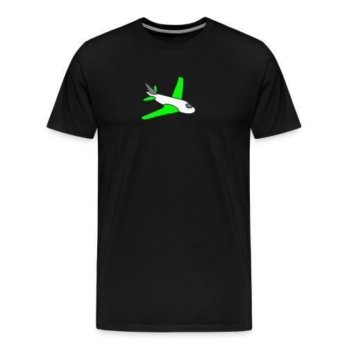 airplanes jet sky freedom aircraft flying glider - Männer Premium T-Shirt
