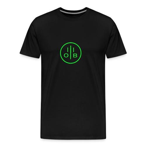 OngBeo Logo mittel - Männer Premium T-Shirt
