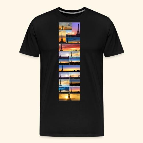 Tour Eiffel réveils - T-shirt Premium Homme