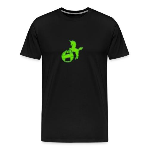 Logo FC Psykologne green - Männer Premium T-Shirt