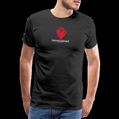 Hand aufs Herz - Männer Premium T-Shirt