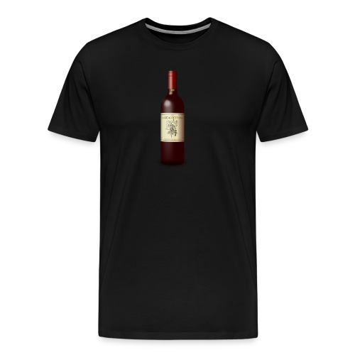 Weinflasche - Männer Premium T-Shirt