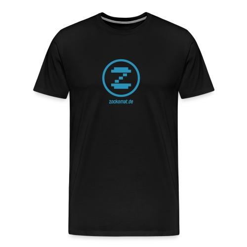 zockomatlogo - Männer Premium T-Shirt