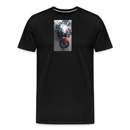 Sweat moto avec capuche - T-shirt Premium Homme