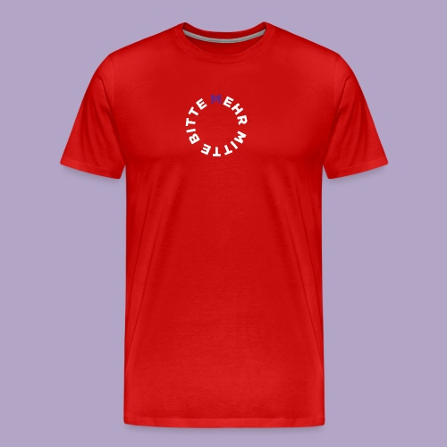 Mehr Mitte Bitte | Julius Raab Stiftung - Männer Premium T-Shirt