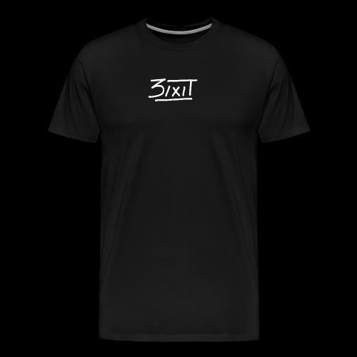 signature blanc - T-shirt Premium Homme
