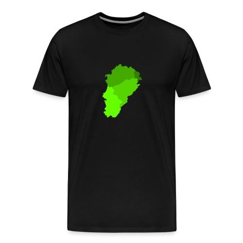 Franche-Comté verte - T-shirt Premium Homme