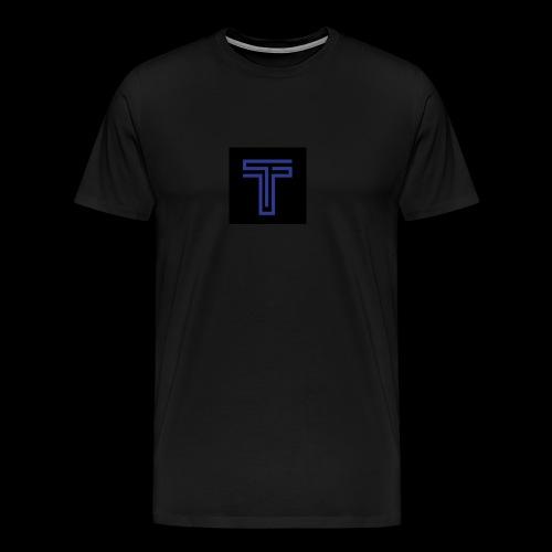 YT logo design - Men's Premium T-Shirt