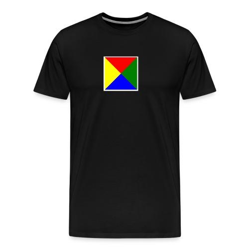 Bilde passord jpg - Premium T-skjorte for menn