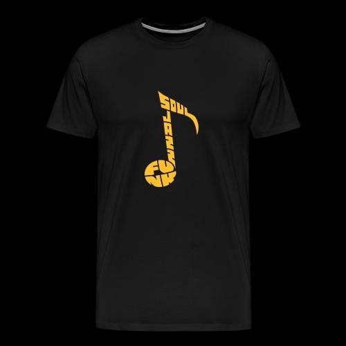 Soul jazz funk - T-shirt Premium Homme