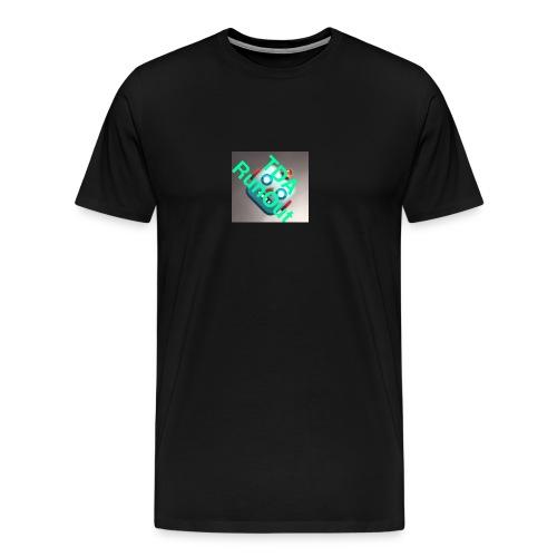 RoboRun - Premium T-skjorte for menn