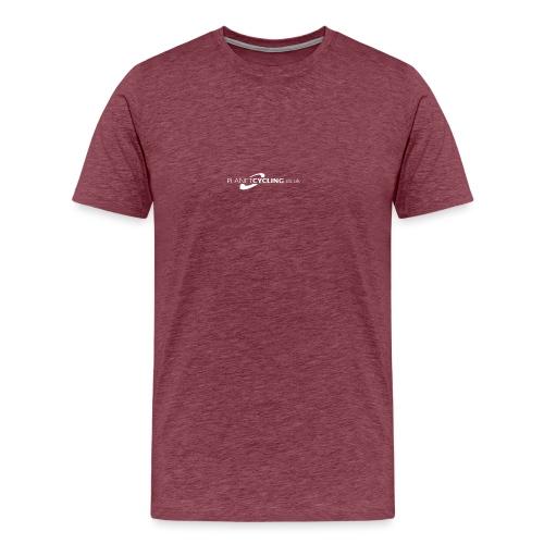 Planet Cycling Web Logo - Men's Premium T-Shirt