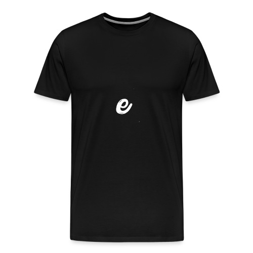 E Shirt - NIEUW! - Mannen Premium T-shirt