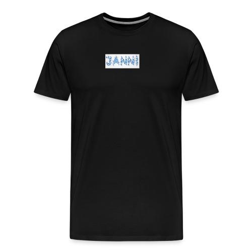 Janni Tesla collection - Herre premium T-shirt