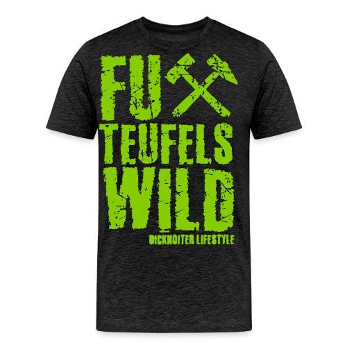 FuXteufelswild - Männer Premium T-Shirt