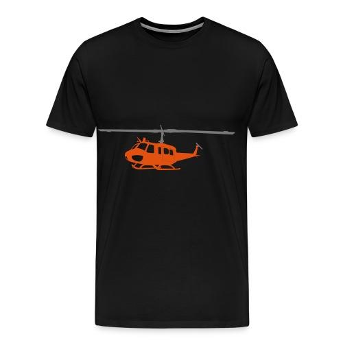 Bell UH- Orange - Männer Premium T-Shirt